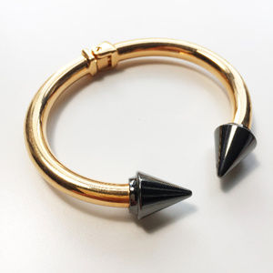 Vita Fede Titan Two Tone Gold Silver Bracelet